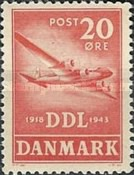 [The 25th Anniversary of the Danish Avation Company, type BW]