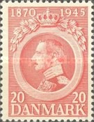 [The 75th Anniversary of the Birth of King Christian X, type BZ1]