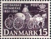 [The 100th Anniversary of the First Danish Postage Stamp, Typ CQ]