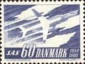 [The 10th Anniversary of the Scandinivian Airlines System, SAS, Typ EG]