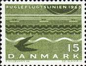 """[Inauguration of the """"Bird Flight Line"""" Railroad Link Between Denmark and Germany, Typ EP]"""