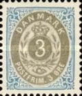 """[Royal Emblem - New Drawing - Value in """"ØRE"""" - Different Perforation, Typ G17]"""