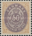 """[Royal Emblem - New Drawing - Value in """"ØRE"""" - Different Perforation, Typ G23]"""