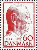 [The 70th Anniversary of the Birth of King Frederik IX, Typ GF1]