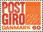 [The 50th Anniversary of  Post Office Banking Service, Typ GO]