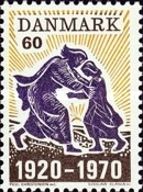 [The 50th Anniversary of the Reunion of North Slesvig with Denmark, type GU]