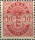 [Coat of Arms - Large Corner Numbers, Typ I1]