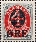 [No. 25B, 25A & 39 Surcharged, type J]