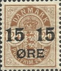 [No. 25B, 25A & 39 Surcharged, type K]