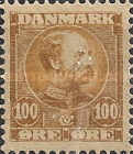 [King Christian IX, 1818-1906 - Horizontal Lines in Background in Oval, type M7]