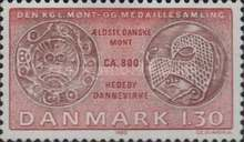 [Coins on Stamps - From the Royal Danish Collection of Coins, type MW]