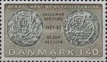 [Coins on Stamps - From the Royal Danish Collection of Coins, type MX]