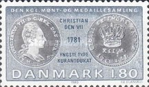 [Coins on Stamps - From the Royal Danish Collection of Coins, type MY]