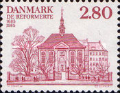 [The 300th Anniversary of  the German and French Reform Church in Denmark, Typ PS]
