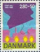 [The 40th Anniversary of the Liberation of Denmark, Typ PY]