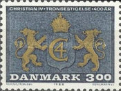 [The 400th Anniversary of the Accession to the Throne of King Christian IV, type SG]