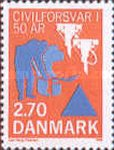 [The 50th Anniversary of Danish Civil Defence and Emergency Planning Agency, type SL]