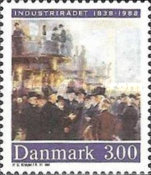[The 150th Anniversary of the Federation of Danish Industries, type SQ]