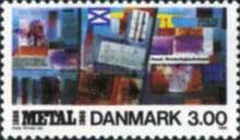 [The 100th Anniversary of Danish Metalworker's Union, type SS]