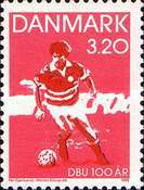 [The 100th Anniversary of the Danish Football Association, type TD]