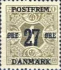[Newspaper Postage Due Stamps Surcharged, Typ W]
