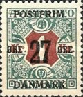 [Newspaper Postage Due Stamps Surcharged, Typ W10]
