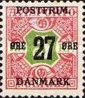 [Newspaper Postage Due Stamps Surcharged, Typ W11]