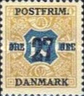 [Newspaper Postage Due Stamps Surcharged, Typ W12]