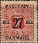 [Newspaper Postage Due Stamps Surcharged, Typ W2]
