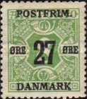 [Newspaper Postage Due Stamps Surcharged, Typ W3]