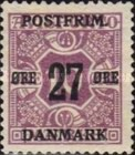 [Newspaper Postage Due Stamps Surcharged, Typ W4]