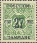 [Newspaper Postage Due Stamps Surcharged, Typ W5]