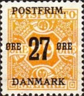 [Newspaper Postage Due Stamps Surcharged, Typ W6]