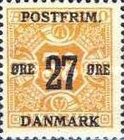 [Newspaper Postage Due Stamps Surcharged, Typ W7]