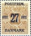 [Newspaper Postage Due Stamps Surcharged, Typ W8]