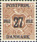 [Newspaper Postage Due Stamps Surcharged, Typ W9]