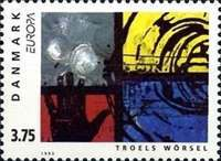 [EUROPA Stamps - Contemporary Art, Typ WQ]