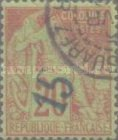 [French Colonies General Issues Postage Stamps Handstamp Surcharged, type A3]