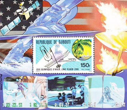 [Airmail - Winter Olympic Games, Lake Placid, Typ ]