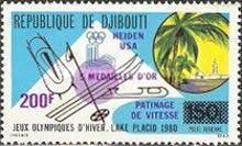[Airmail - Winter Olympic Games - Issue of 1980 Overprinted with Names of Medal Winners, Typ ]
