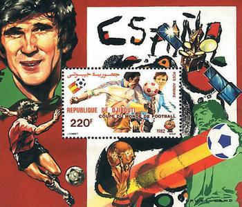 [Airmail - Football World Cup - Spain, Typ ]