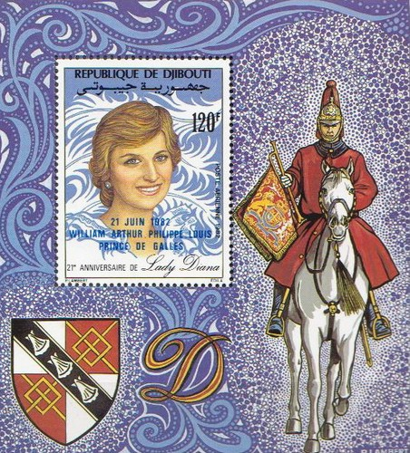 [Airmail - The Birth of Prince William of Wales - Issues of 1982 Overprinted, Typ ]