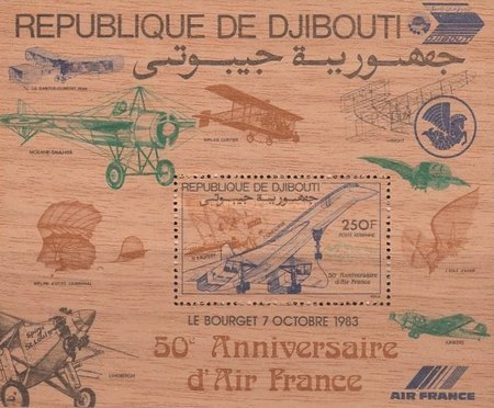 [Airmail - The 50th Anniversary of Air France, Typ ]