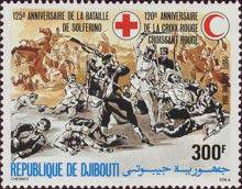 [Airmail - The 125th Anniversary of Battle of Solferino and 120th Anniversary of Red Cross, Typ ]