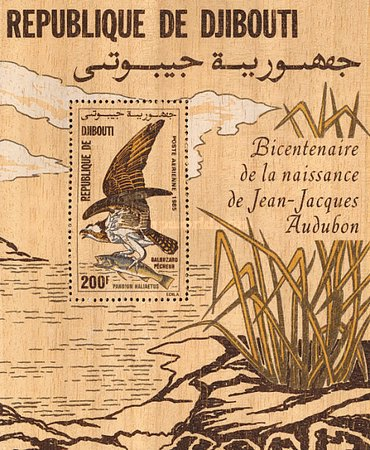 [Airmail - Birds - The 200th Anniversary of the Birth of John J. Audubon, Typ ]