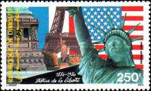 [Airmail - The 100th Anniversary of Statue of Liberty, Typ ]