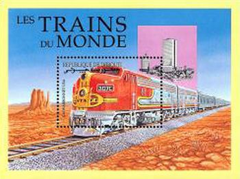 [Locomotives from around the World, Typ ]