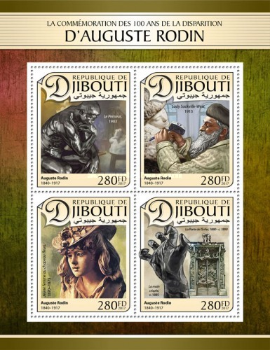 [The 100th Anniversary of the Death of D'Auguste Rodin, 1840-1917, Typ ]