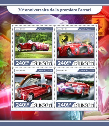 [Transportation - The 70th Anniversary of the First Ferrari, Typ ]
