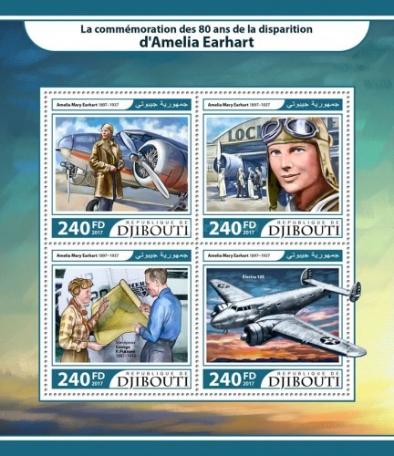 [The 80th Anniversary of the Death of Amelia Earhart, 1897-1937, Typ ]
